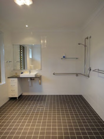 Toowoomba 1 brm duplex villa high physical support - Bathroom modifications for disabled ...